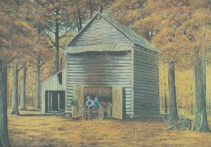 Tobacco Barn 300x209 New Historic Site in Calloway County